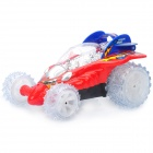 49MHz 4-CH R/C Stunt Toy with Lighting Effect - Red