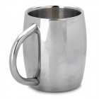 High Quality Stainless Steel Beer Double Wall Mug - Silver (300ml)