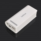 5200mAh Notfall Mobile Power Akku mit Handy-Adapter - White