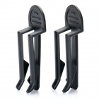Universal Plastic Garbage Waste Bag Clip Holder (Pair)