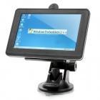 "5.0"" Touch Screen Win CE 6.0 GPS Navigation w/ FM / TF Slot (Europe Maps / 4GB)"
