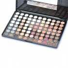 Professional Cosmetic Make-Up 88-Color Eye Shadow Kit with Mirror & Brush