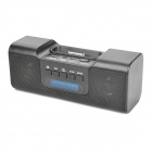 "1,4 ""LED Charging Docking Station MP3 Music Speaker w / FM / 3,5 mm Audio / USB / TF für iPhone / iPod"