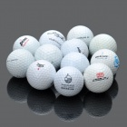 Used Hit Away Mixed Branded Golf Balls for Practice (12-Piece Pack)
