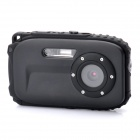 "BI68 Waterproof 5.0MP CMOS Compact Digital Camera w/ 8X Digital Zoom / TF / Mini USB (2.7"" TFT LCD)"