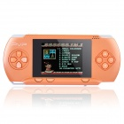 "2.7"" LCD Portable 8-bit Game Console w/ Built-in Games / TV-Out / Game Cartridge - Orange"