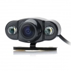 E400 Vehicle Rear Sight Waterproof CMOS Camera with 2-LED Light(DC 12V / NTSC)