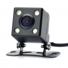 314 Vehicle Rear Sight Waterproof CMOS Camera with 4-LED Night Vision (DC 12V / NTSC)