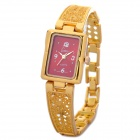 Stylish Women's Gold Style Quartz Wrist Watch - Golden (1 x 377)