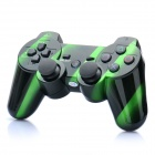 Designer Rechargeable Bluetooth Wireless DoubleShock SIXAXIS Controller für PS3 - Green + Black
