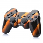 Designer's Rechargeable Bluetooth Wireless DoubleShock SIXAXIS Controller for PS3 - Orange + Black