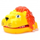 Funny Lion Mouth Dentist Bite Finger Game Toy w/ Sound / Lighting Effect (3 x AG13)