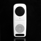 Tragbare wiederaufladbare MP3 Music Speaker w / TF / 3,5 mm Audio Jack - Black + White