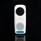 Tragbare wiederaufladbare MP3 Music Speaker w / TF / 3,5 mm Audio Jack - Blue + White