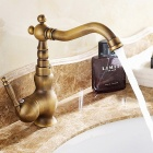 Antique Bronze Single Lever Bathroom Faucet