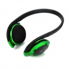 H580 Bluetooth V2.0+EDR Handsfree Stereo Headset Headphone - Black + Green