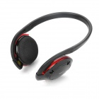 H580 Bluetooth V2.0+EDR Handsfree Stereo Headset Headphone - Black + Red