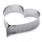 Adjustable Heart Shaped Cake Cutter Ring Mold