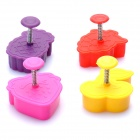 Cute Fruit Style Biscuit Cookie DIY Cutter Moulds Set (4-Piece Pack)