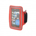 Trendy Sports Armband for Iphone 4S / 4 / Ipod Touch 4 - Red