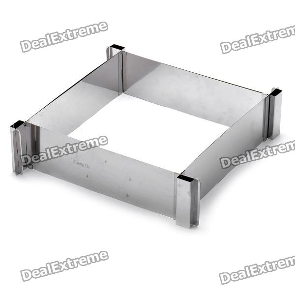 Adjustable Square Cake Cutter Ring Mold