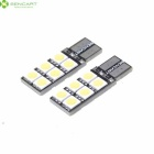 T10 2.5W 6500K 168-Lumen 12x5050 SMD LED White Light Lamps for Car (12V / Pair)