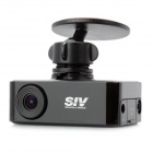 SIV H7 720P Wide Angle 1.2MP H.264 Car DVR Camcorder w/ GPS, AV-Out and G-Sensor (4GB TF Card)