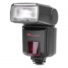 "DPT386AFZ-N Speedlite Flash for Nikon Camera w/ 1.7"" LCD Display - Black (4 x AA LR6 / R6)"