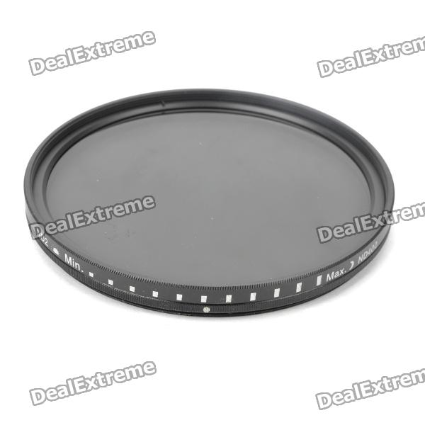 Genuine New-View Variable Neutral Density ND2-400 Fader Filter for DSLR Camera (82mm)