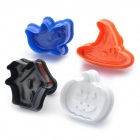 Cute Biscuit Cookie DIY Cutter Moulds Set (4-Piece Pack)