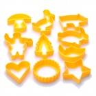 Cute Biscuit Cookie DIY Moulds Set (10-Piece Pack)