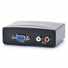 YZ-1803 VGA to HDMI Converter - Black