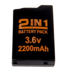 2200mAh Replacement Battery Pack with Cover for PSP Slim/2000 (NK-RH022)