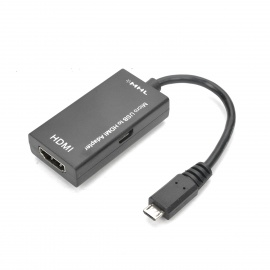 MHL 1080p Micro USB Male to HDMI Female Adapter Cable