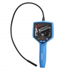 Supereyes N012 Inspection Tube Snake Camera Borescope w/ 3.5 LCD, 4-LED - Blue