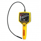 Supereyes N014 Inspection Tube Snake Camera Borescope w/ 3.5 LCD, 4-LED and TF Slot - Yellow
