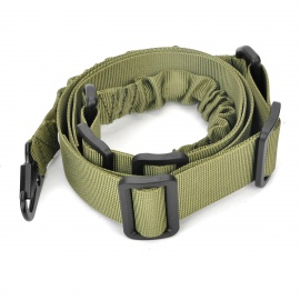Tactical Nylon Two-Point Gun Sling - Army Green