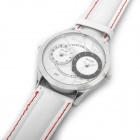 Special Double Movement Wrist Watch - White (2 x SR626)