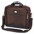 "Kingsons KS6050W 15.4"" Vacuum and Shockproof Business Laptop Bag for Man - Coffee"