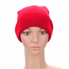 Stylish Acrylic Fibers Beanie Winter Hat Cap (Random Color)