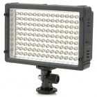 5500K 800LM 126-LED White Light Video Lamp with Filters for Camera/Camcorder