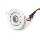 1W 80LM 3500K Warm White LED Light Ceiling Lamp (100~245V)
