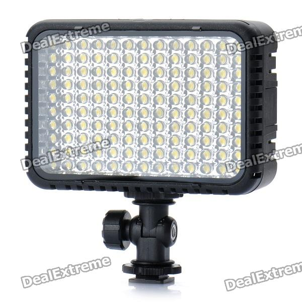 7.8W 850LM 130-LED Video Lamp with Filters for Camera/Camcorder