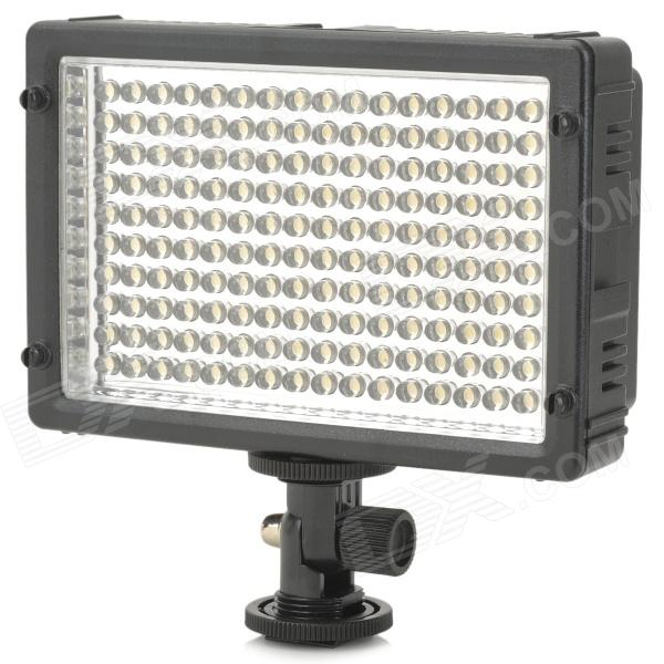5500K 1020LM 160-LED White Light Video Lamp with Filters for Camera/Camcorder