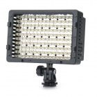 9.6W 5400K 660LM 160-LED White Light Video Lamp with Filters for Camera/Camcorder