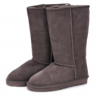 Stilvolle Damen Winter Warm Snow Boots-Schuhe - Brown (Größe 38)