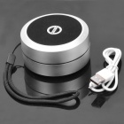 Portable USB Rechargeable Bluetooth V2.1+EDR Stereo Speaker - Silver