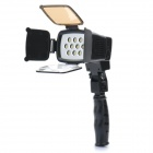11W 950lm 10-LED Video Lampe mit Filter für Kamera / Camcorder