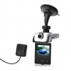CMOS 5MP Wide Angle Car DVR Camcorder w/ GPS / Night Vision / AV-Out / HDMI / TF (2.36
