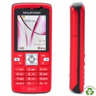 "Refurbished Sony Ericsson K610i WCDMA Cellphone w/ 2.0"" LCD Screen and JAVA - Red"